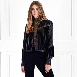 Rachael Zoe Fringe suede and leather jacket ❤️